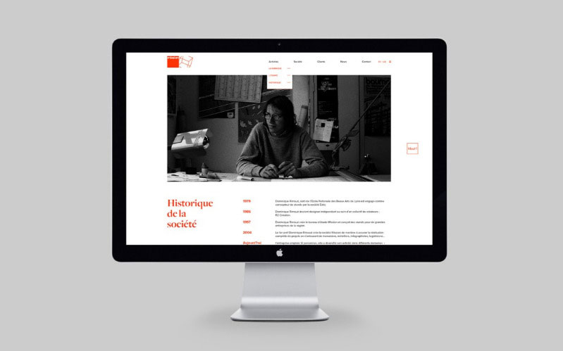 Mission site web responsive